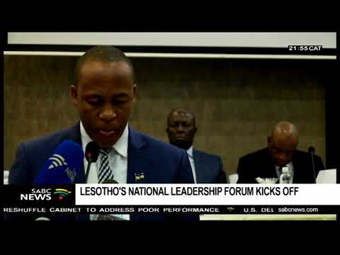 Lesotho's National Leadership Forum kicks off