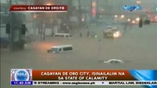 Cagayan de Oro, isinailalim na sa State of Calamity