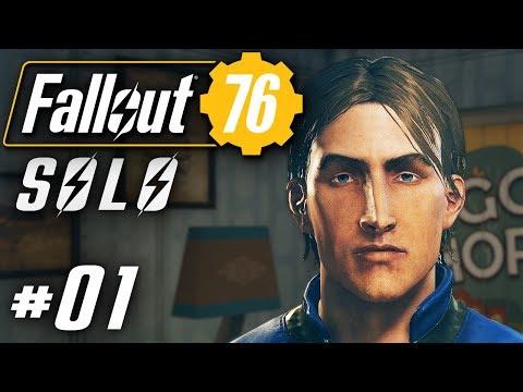 Fallout 76 Deutsch PC Alleine im Multiplayer Fallout Gameplay German #01