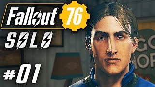Fallout 76 Deutsch PC Alleine im Multiplayer Fallout Gameplay German #01