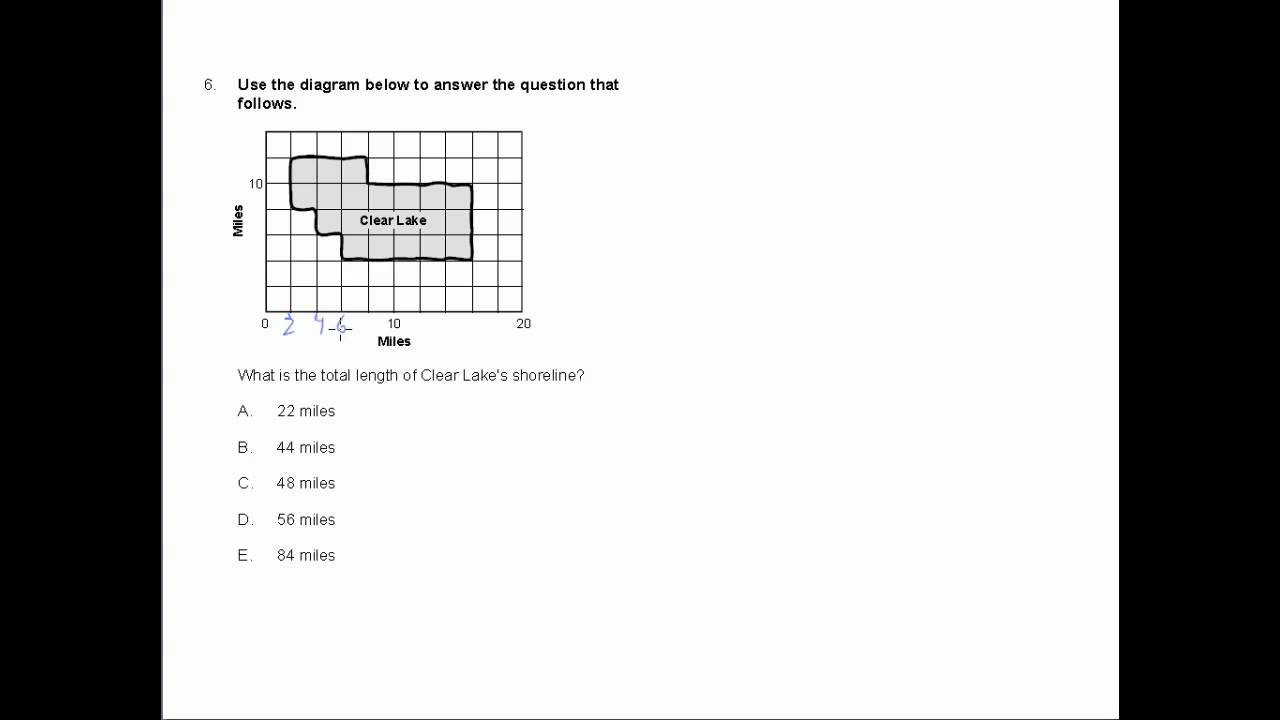 CBEST Practice Test Math Number 6 - YouTube