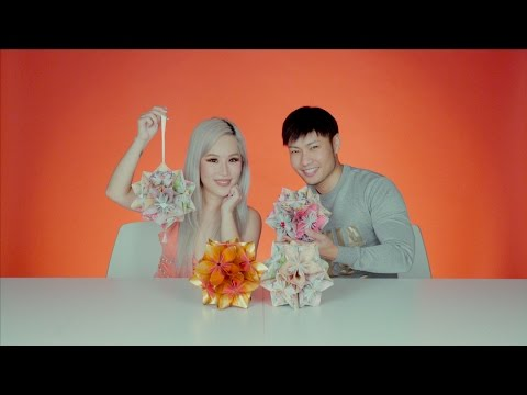 Tutorial: Making a CNY kusudama ball, featuring Xiaxue