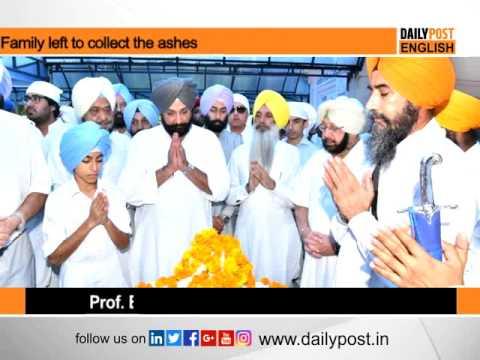 Last mortal remains of Rajmata immersed at Kiratpur sahib