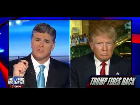 • Donald Trump on Iran, Illegals, Trade, Jobs, and More • Hannity • 7/15/15 •
