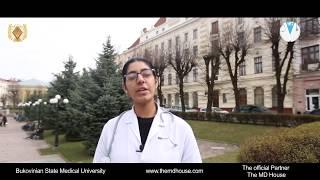 Bukovinian State Medical University I MBBS Girl Student in Ukraine Briefs I MBBS IN UKRAINE
