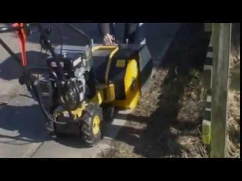Texas Handy Sweep 700TGE fejemaskine - YouTube