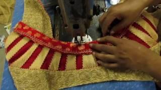 Prasanta Blouse Design CCC Drafting Stitching/Make Fashion Tutorial part 4 of 4