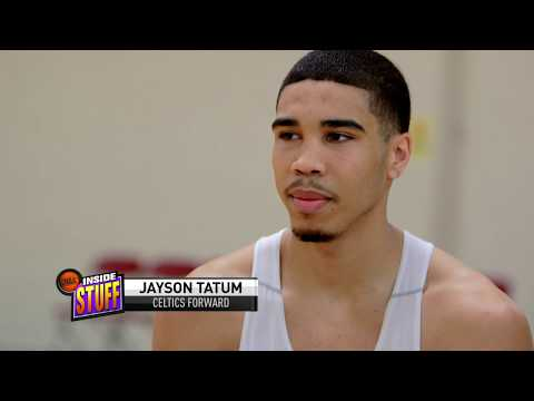 2017 NBA DRAFT: NBA Inside Stuff - Jayson Tatum Interview/Trains w/ Grant Hill (#DUKE)