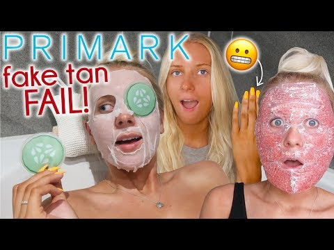 I only used PRIMARK BEAUTY for 24 HOURS! 😬£3 fake tan!!!