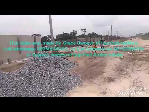 East Amber Estate Lagos Abijo GRA call/whatsapp 08060020301 for site Inspection