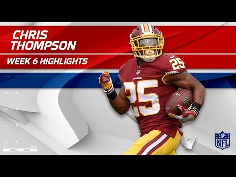 Chris Thompson Tears Through San Fran for 138 Yards!   49ers vs. Redskins   Wk 6 Player Highlights