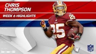 Chris Thompson Tears Through San Fran for 138 Yards! | 49ers vs. Redskins | Wk 6 Player Highlights
