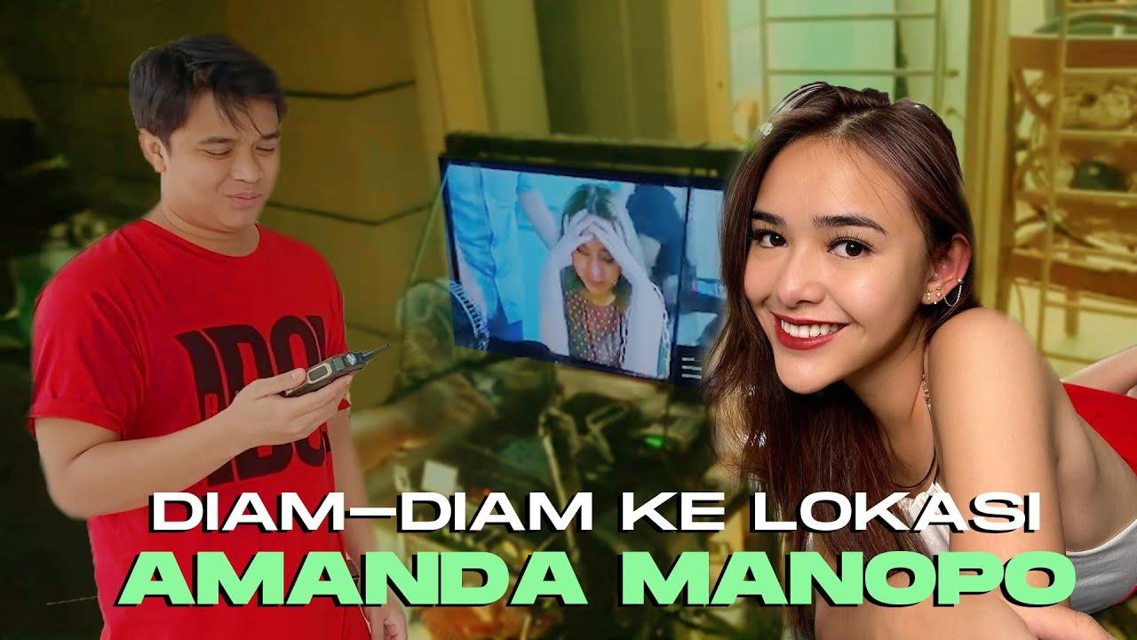 Kasih kejutan buat Amanda manopo dilokasi syuting,DEG DEGAN !!!