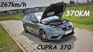 SEAT Leon ST Cupra 370 Carbon NAJSZYBSZA CUPRA w HISTORII test PL