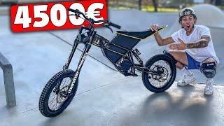 MOTO ÉLECTRIQUE À 4500€ VS SKATEPARK !