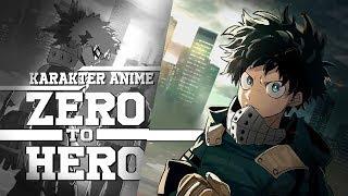 Top 8 Anime Dengan Karakter Zero To Hero - INSPIRATIF