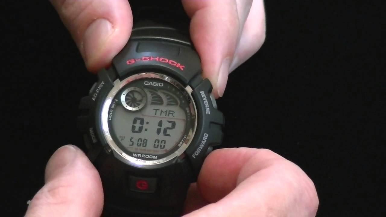 Download Casio G-Shock G2900