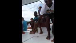 Catamaran cruise grand bay Mauritius by tamamsa