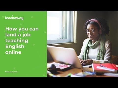 Webinar: How You Can Land A Job Teaching English Online