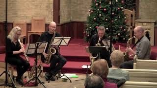 """""""Thank You"""" by Jerry Dodgion performed by the Toronto Sax Quartet"""