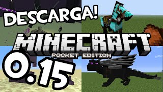 Descarga Minecraft Pocket Edition 0.15.0 (Build) | Review Real (No Feik) (1 Zelda) (Adfly)
