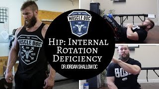 How to Fix H.I.R.D!  (Hip Internal Rotation Deficiency)