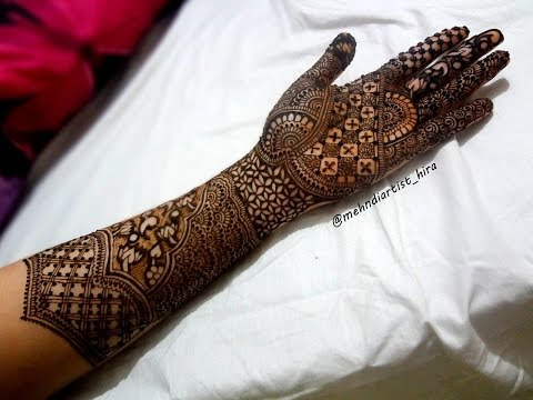 Best And Beautiful Easy Simple Henna Mehandi Designs Images For Hands ‖ Mehndi Art By Hira