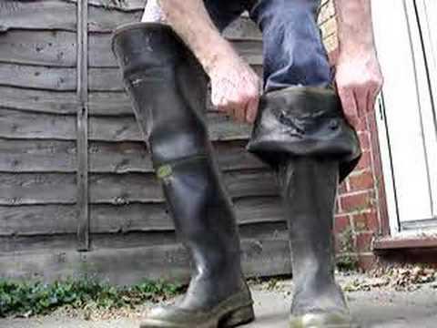 Old Dunlop Solents Waders 02 Youtube