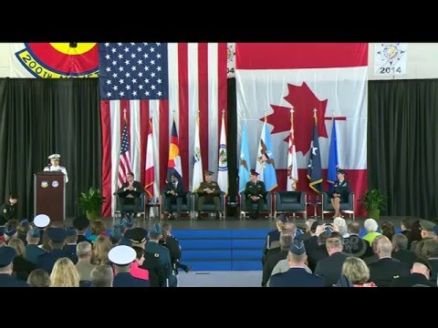 Carter, Dunford Attend NORAD, Northcom Change-of-Command Ceremony