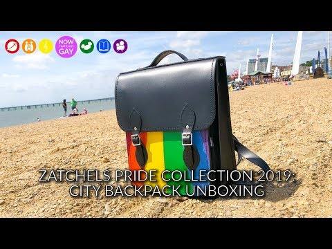 Zatchels Pride Collection 2019: City Backpack Unboxing