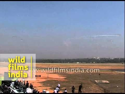 IAF aircrafts perform aerobatics