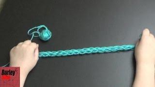 How to Finger Knit Beginner Turotial