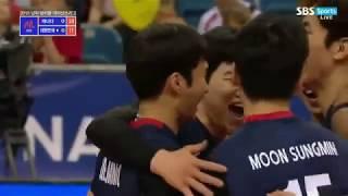 2018 남자 VNL 대한민국 vs 캐나다 하이라이트