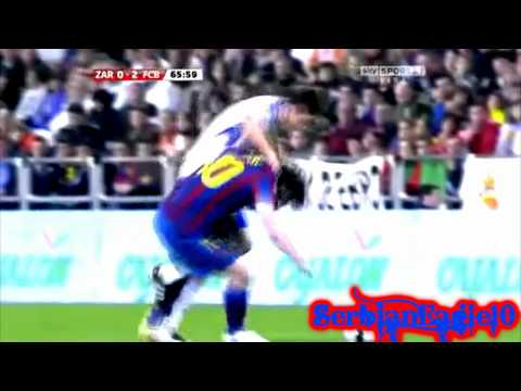 Lionel Messi & David Villa 2010/2011 - Together Can't Be Touched Wembley 3-1 HD
