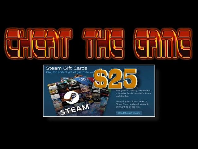 CTG $25 Steam Card Givaway To Celebrate 10k Subs Announcement