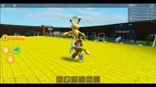 HES ANGRY! | Roblox | A Very Hungry Pikachu