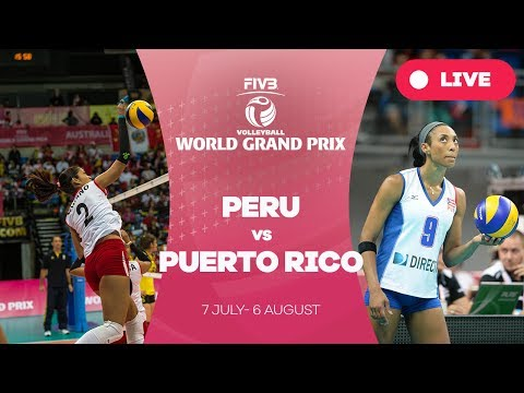 Peru v Puerto Rico - Group 2: 2017 FIVB Volleyball World Grand Prix