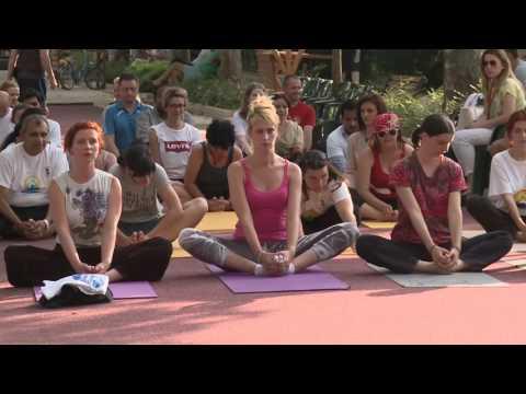 International Day of Yoga & Ganges Danube Cultural Festival of India  in Bosnia Herzegovina, 2016