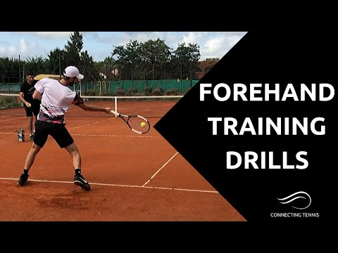 Tennis Forehand: Professional Forehand Training - 5 Drills | Connecting Tennis