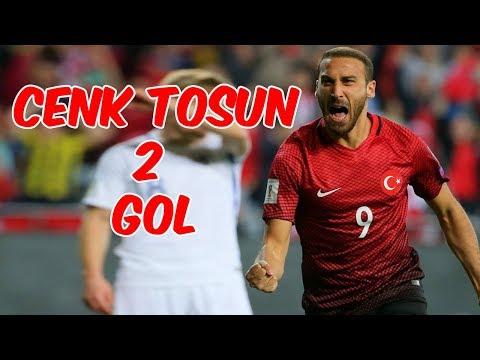 Cenk Tosun'un İran'a Attığı 2 Gol !