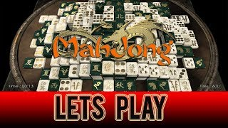mahjong bakno - PC Gameplay (Blue tiles)