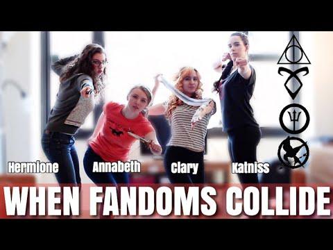 When Fandoms Collide Episode 3! - YouTube  Fandoms Collide