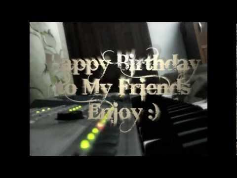 Happy Birthday (Piano Jazz Cover)