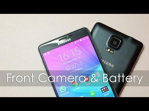 Galaxy Note 4 Battery Life & Front Facing Camera Vid Shot via Note 4