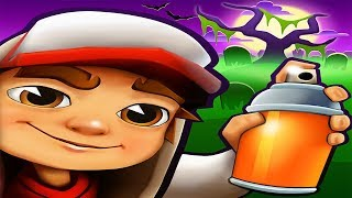 Subway Surfers New Orleans Android Gameplay - Halloween Dark Outfit