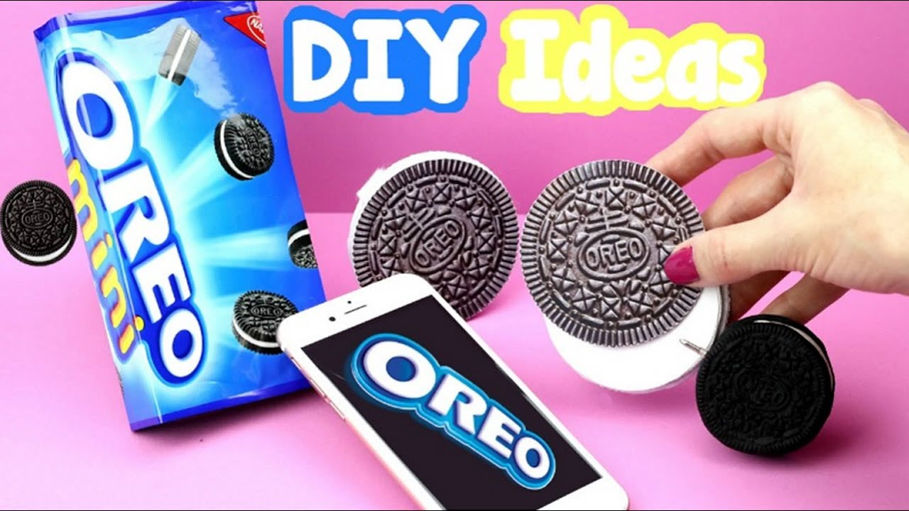 DIY Crafts: 3 Fun Oreo Cookie DIYs - Oreo Notebook ...