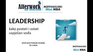 Afterwork sa Srićom  - LEADERSHIP kako postati vođa