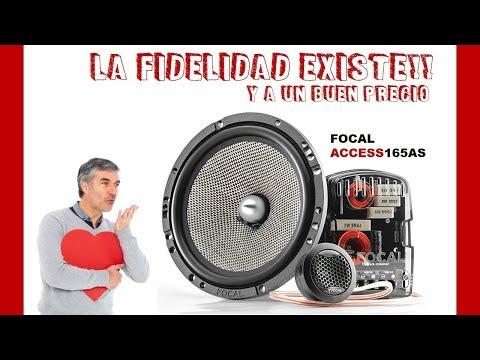 Focal Access 165AS La fidelidad existe y a un buen precio CAR MUSIC