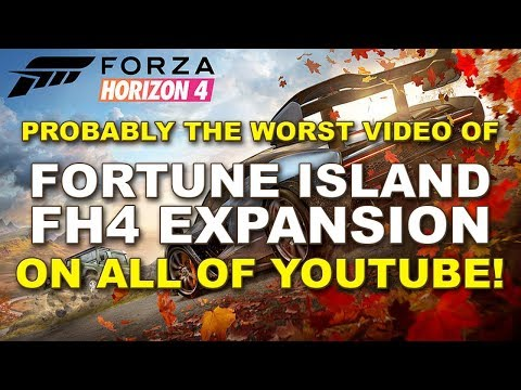 The Worst FH4 Fortune Island Expansion Showcase Video On