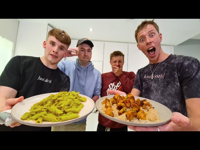 YOUTUBER COOK OFF VS STEPHEN TRIES!